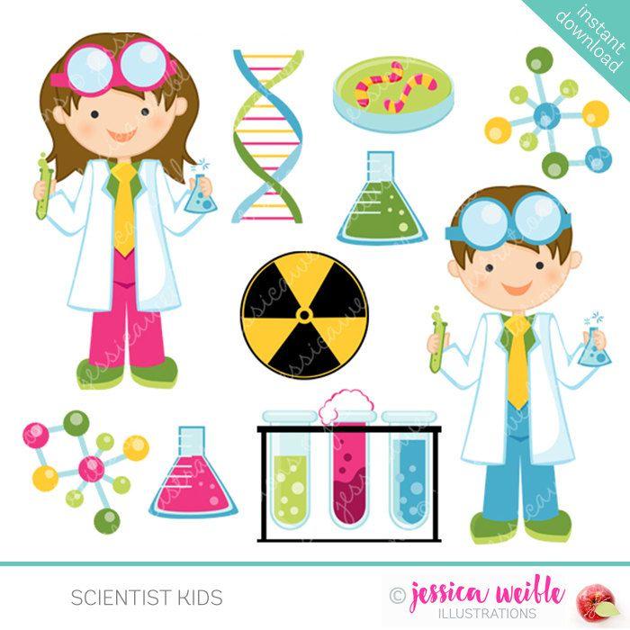 scientist kids cute clipart science kids science clip art