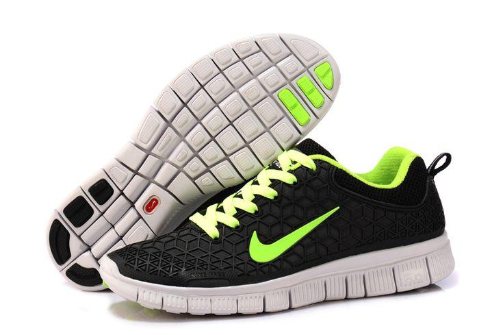 AEpC4 2013 Nike Free 6.0 Spiderman Kangaroo Leather Black Green