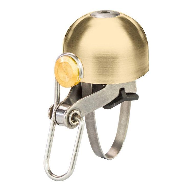 6ku classic bell klingel gold poliert fahrrad. Black Bedroom Furniture Sets. Home Design Ideas
