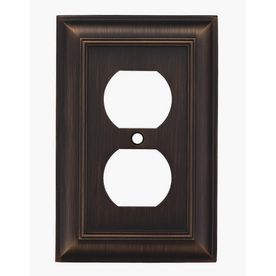 Allen + Roth Oil Rubbed Bronze Switchplates from Lowe's!