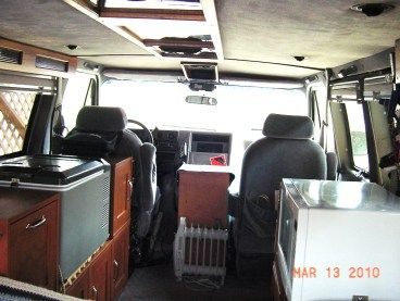 Cheap RV Living.com-Easy Van Conversion