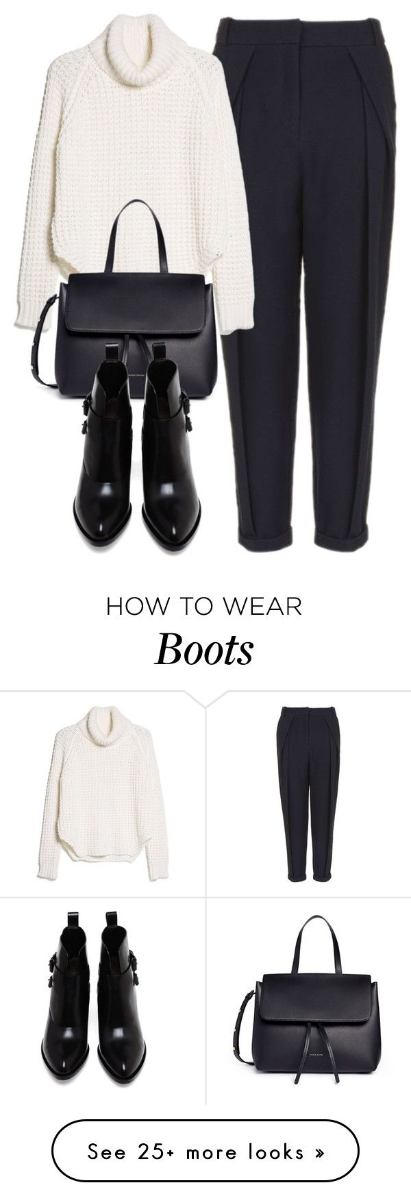 """Untitled #6377"" by laurenmboot on Polyvore featuring Topshop, MANGO, Mansur Gavriel and Alexander Wang"