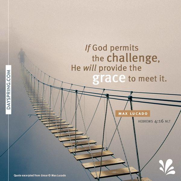 He Provides Grace