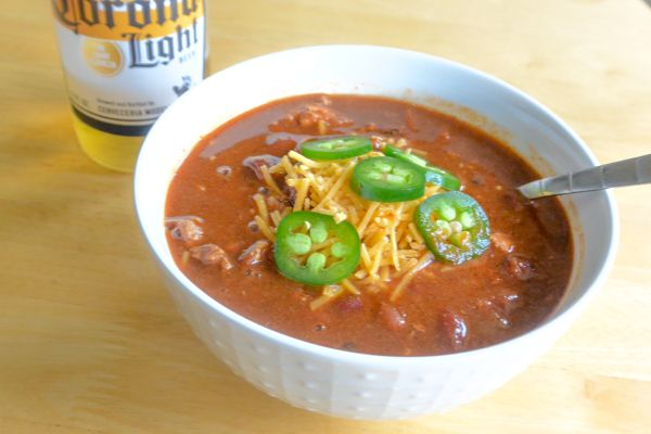 This is the best spicy turkey chili-it's delicious and has a nice spicy kick. If you're looking for a lower calorie spicy chili, this is the recipe for you!!!  #chili #spicy #jalapeno  #turkey