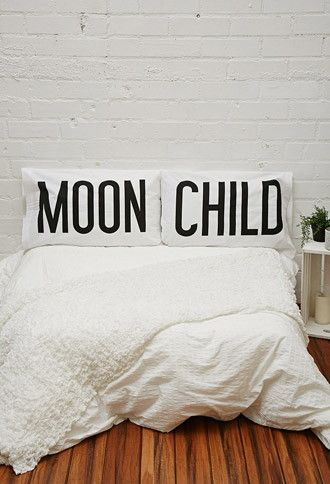 Gypsy Warrior Moon Child Pillowcase Set | Forever 21 | #forever21home