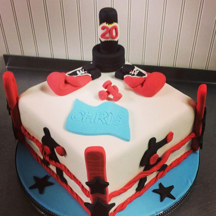 Kickboxing Cake Jojokakes Cake Birthday Cake Cake
