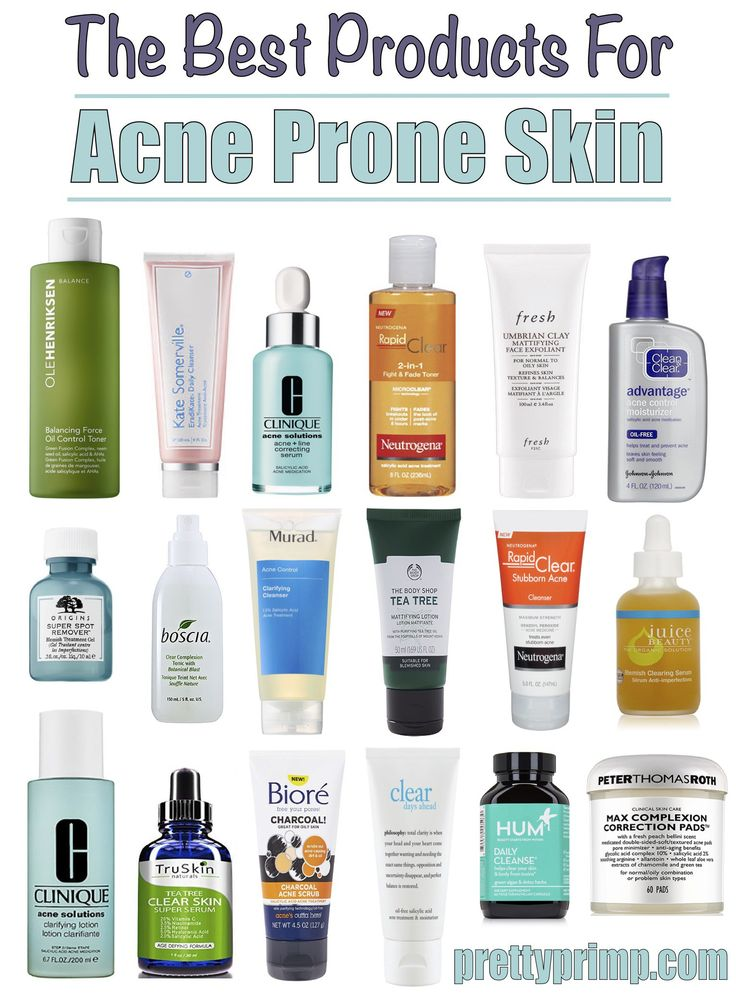 skincare for acne prone skin
