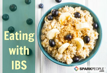 Nutrition Tips for Preventing (and Living with) Irritable Bowel Syndrome (IBS) | via @SparkPeople #diet #food #health