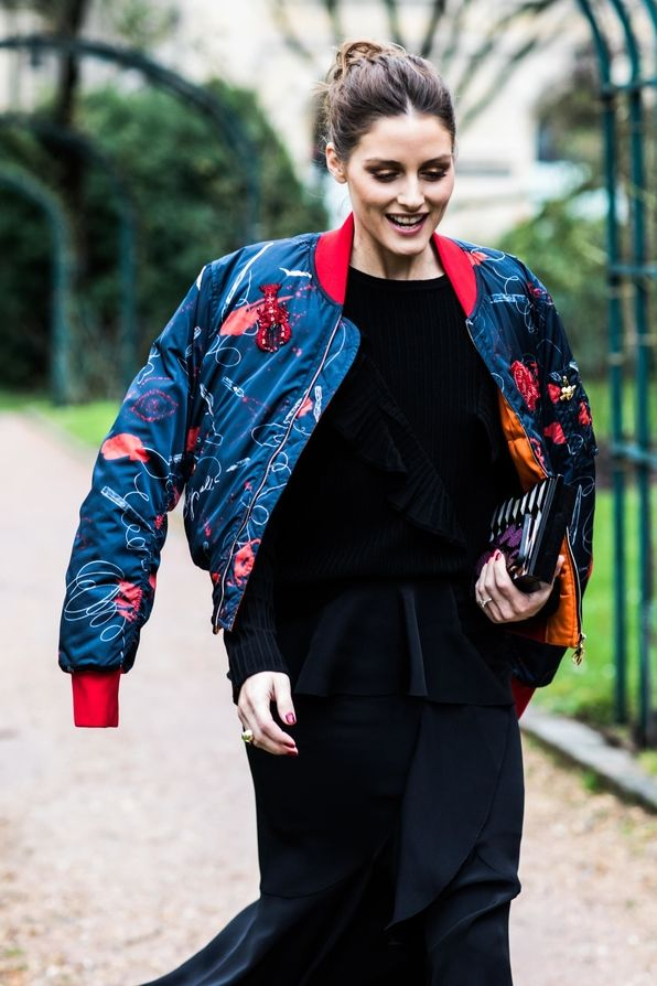 Street style à la Fashion Week haute couture printemps-été 2018 de Paris