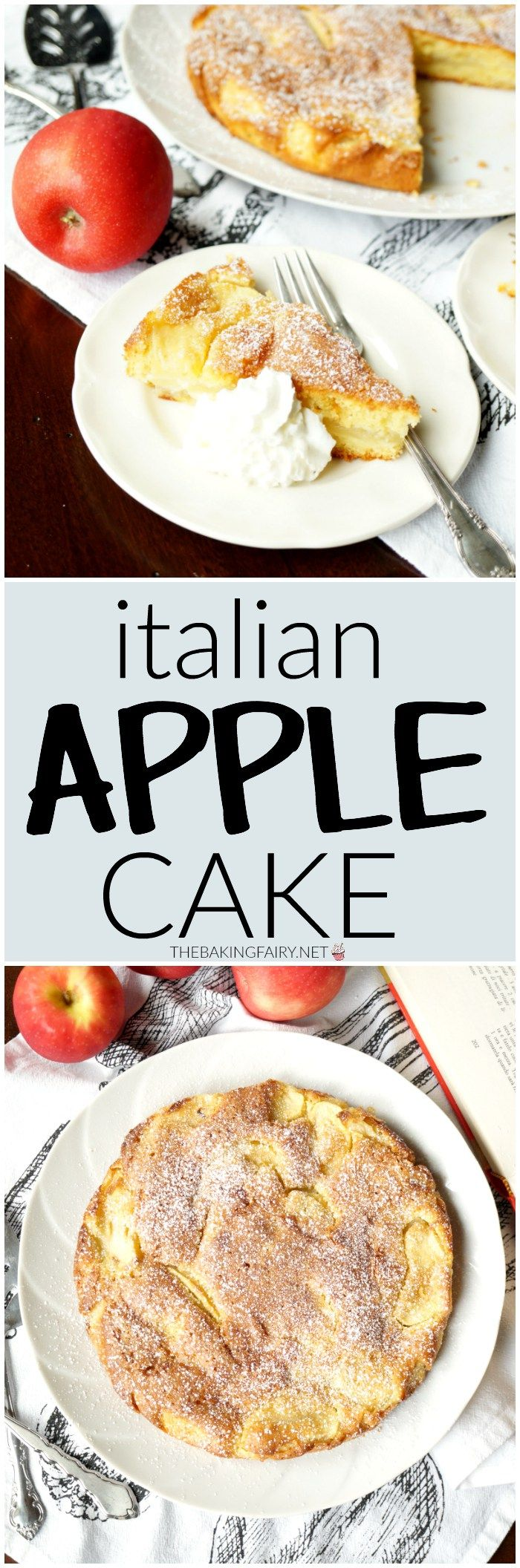 italian apple cake   The Baking Fairy