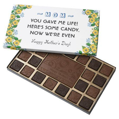 mother's day gift ideas assorted chocolates - tap to personalize and get yours