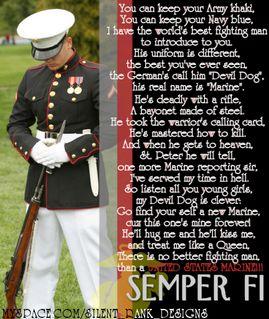 Famous Marine Quotes. QuotesGram