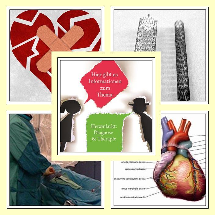 Diagnose & Therapie eines Herzinfarktes.