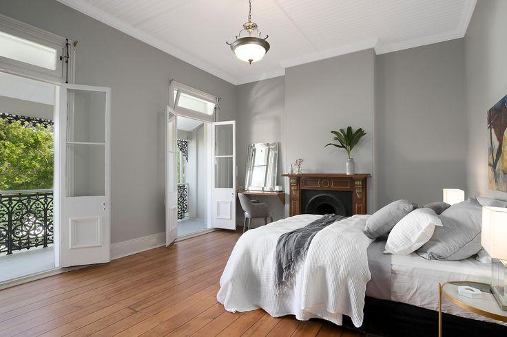 Main bedroom opens to iron lace verandah