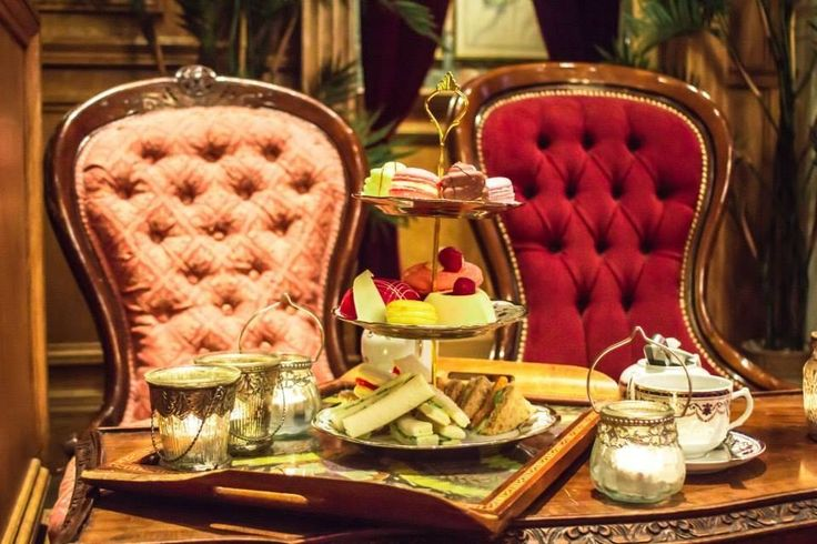 """Mr. Fogg's in London. The quirky Victorian-themed cocktail bar was inspired by the hero of Jules Vernes' classic novel Around The World In Eight Days and offers """"Tipsy Tea"""" every Friday."""