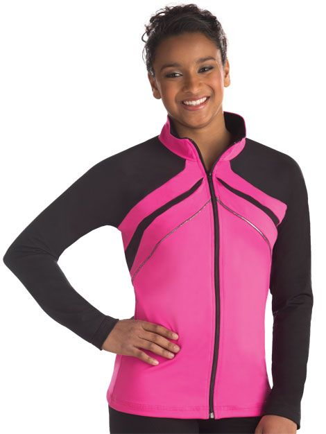 Sporty Raglan Warm-Up Jacket from GK Elite
