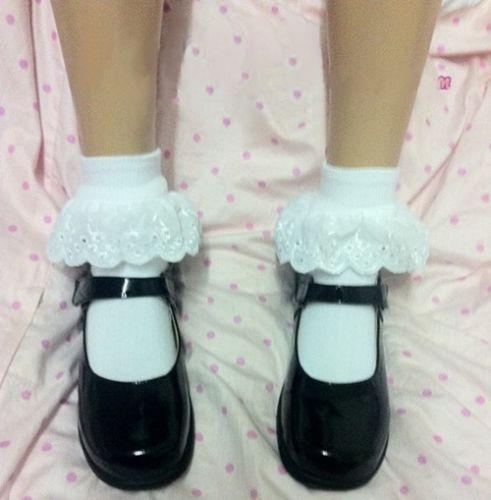 Japanese School Uniform Shoes Uwabaki Slippers Lolita Pricess Shoes New | eBay