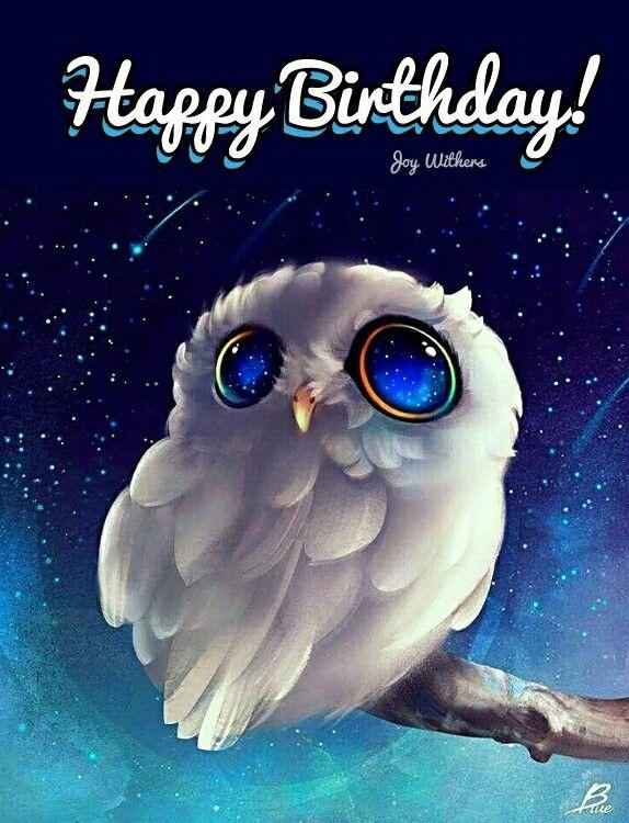 Happy Birthday Sarah Jo Happy Birthday Owl Happy Birthday