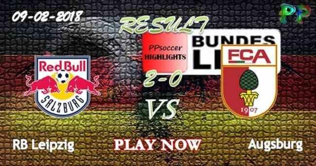 RB Leipzig 2 - 0 Augsburg HIGHLIGHTS 09.02.2018