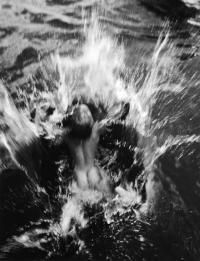 DANA MILLER IN THE POND, UMPAWAG, CONNECTICUT, 1954 by STEICHEN, EDWARD (1879-1973) - photograph for sale from Beetles & Huxley