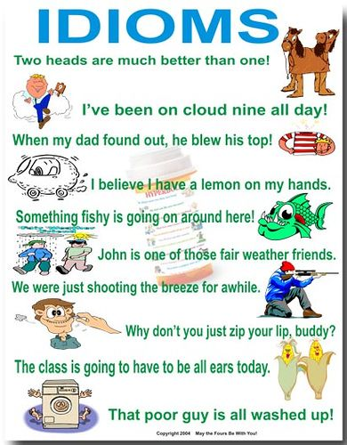 Idioms Poster | Flickr - Photo Sharing!