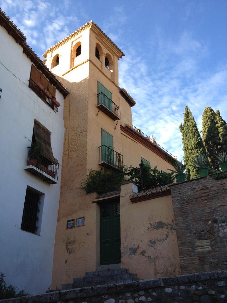 View from Placeta de Porras, Albaicín (Granada, Spain)
