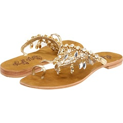gold sandals: Adore Gold, Style, Adore Sandal, Naughty Monkey, Gold Sandals, Chandelier Sandals, Zappos
