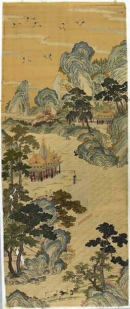 508 best art asia images on pinterest chinese art for Dynasty mural works
