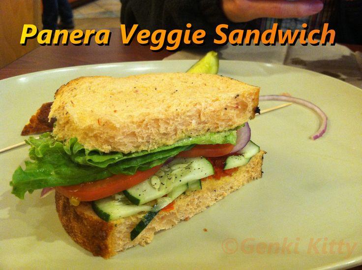 Panera Bread Vegan Approved Sandwich