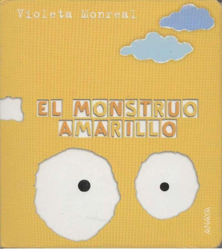 El monstruo amarillo Cuentos infantiles. Colores.
