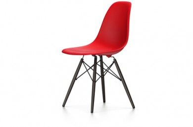 Eames chaise dsw pieds noirs la chaise dsr vitra est la version actualis e - Chaise eames occasion ...