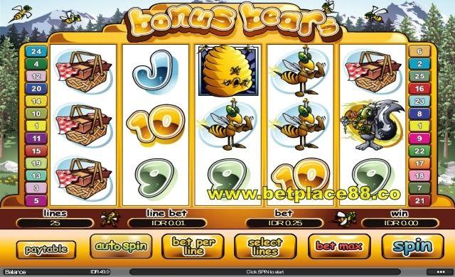 Bagi penyuka binatang beruang, anda bisa memainkan game Bonus Bears di Joker123 – mini game online yang mana merupajan slot game judi yang cukup menarik untuk dimainkan. Tampilan permainan Bo…