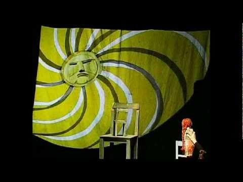 Die sieben Raben - Fliegendes Theater #Puppentheater #puppetry #poppentheater #puppet