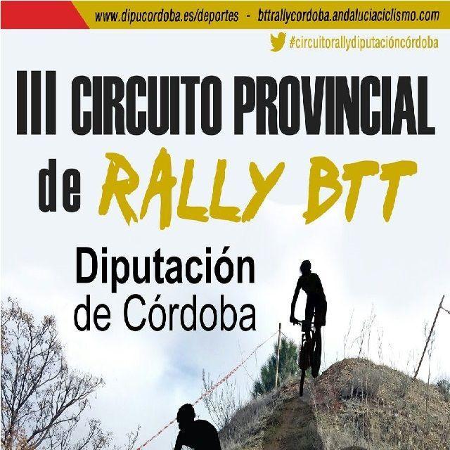 ElIII Circuito Provincial de BTT Rally Diputación de Córdoba 2017/2018 entra en su fase decisiva. A dos pruebas para el final de la competición,Fuente Palmerael próximodomingo 4 de febrerose otea en el horizonte como cita crucial en el devenir de la clasificación final.   #BTT #DiputacióndeCórdoba