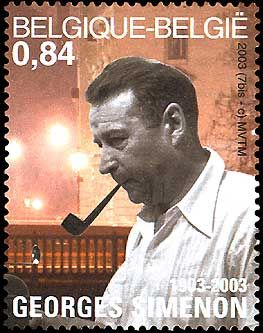 Detective Fiction on Stamps: Simenon / Maigret - Belgium