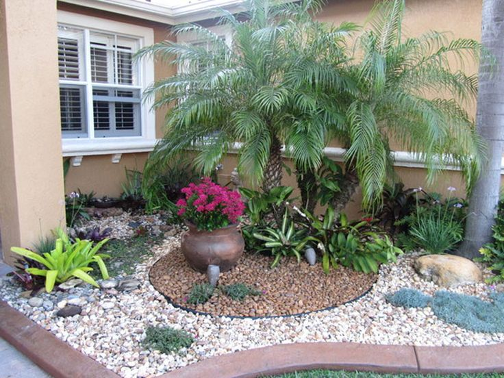 easy ideas of small front garden