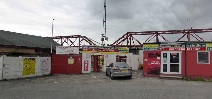 Crown Ground - External - Accrington Stanley FC