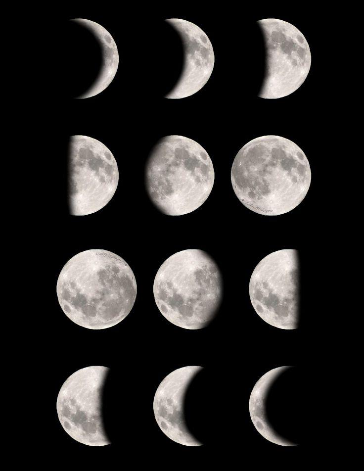 картинка новолуние рост луны считают