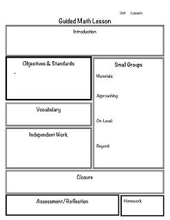 2 Organized Apples: Classroom Solutions for Grades 3-5: Guided Math…Guided Math lesson plan template