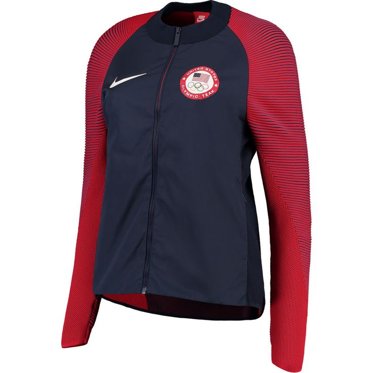 Team USA Nike Women's Medal Stand Full-Zip Jacket - Navy....lol....right!