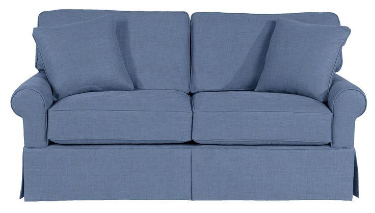 Wilton Skirted Full Sleeper Sofa|Maine Cottage®