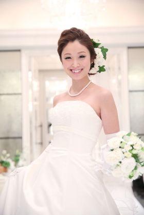 結婚式 ウエディングドレス 髪型 - Yahoo!検索(画像)