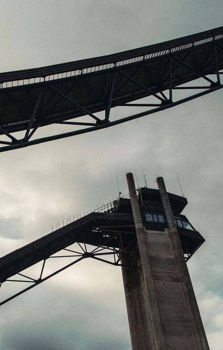 """In the Adirondack Mountains in upstate New York, there are two massive ski jumps. They were built when Lake Placid hosted the 1980 Winter Olympics, the same games where the US hockey team performed its """"miracle on the ice."""" That year, the ski-jumping medals went to Austrian, Finnish, East German, and Japanese athletes. The ramps now serve as a year-round tourist attraction, but they're also used for summer training by a group of brave jumpers. Some are simply looking for something different…"""