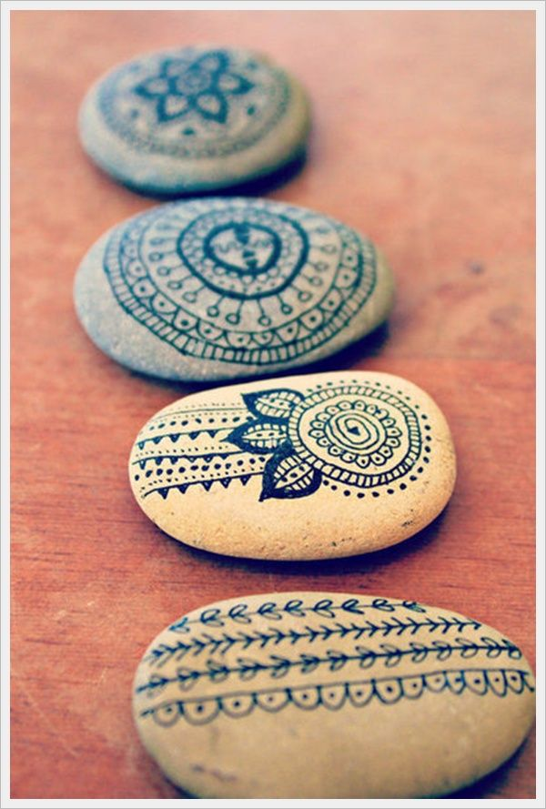Mehndi rocks, you know I am going to do this one.                                                                                                                                                      More