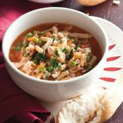 Hearty Chicken Minestrone Soup
