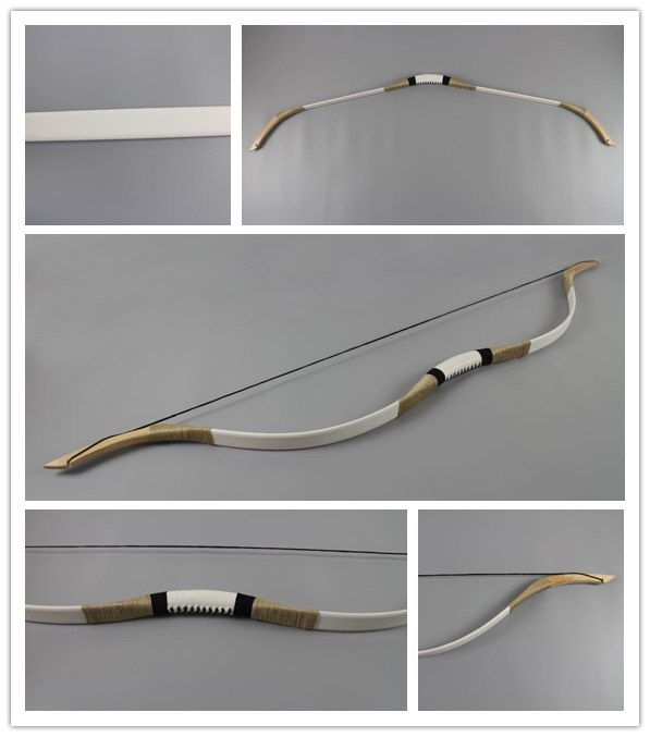 40~50 Lb Bow Covered by Cowhide, up to 32 inch draw length