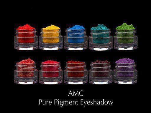 AMC pigment powders
