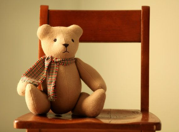 Handmade Classic Teddy Bear (Galveston)