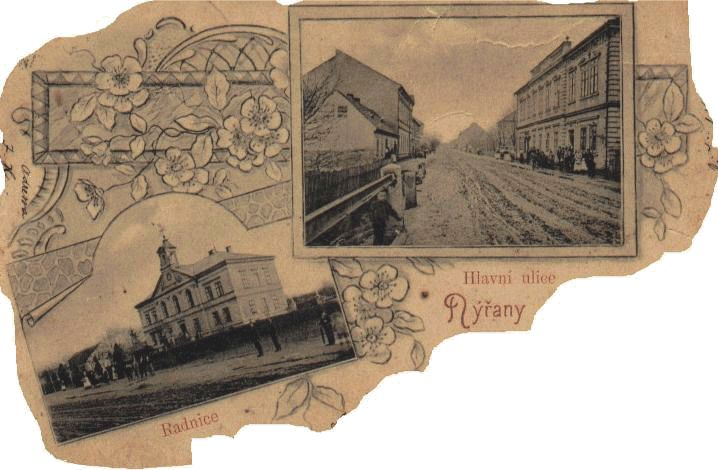 Nýřany, Hlavní ulice, Radnice.