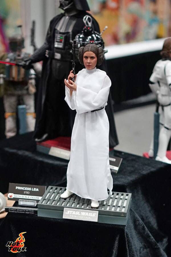 Hot toys Display at San Diego Comic Con. Princess Leia